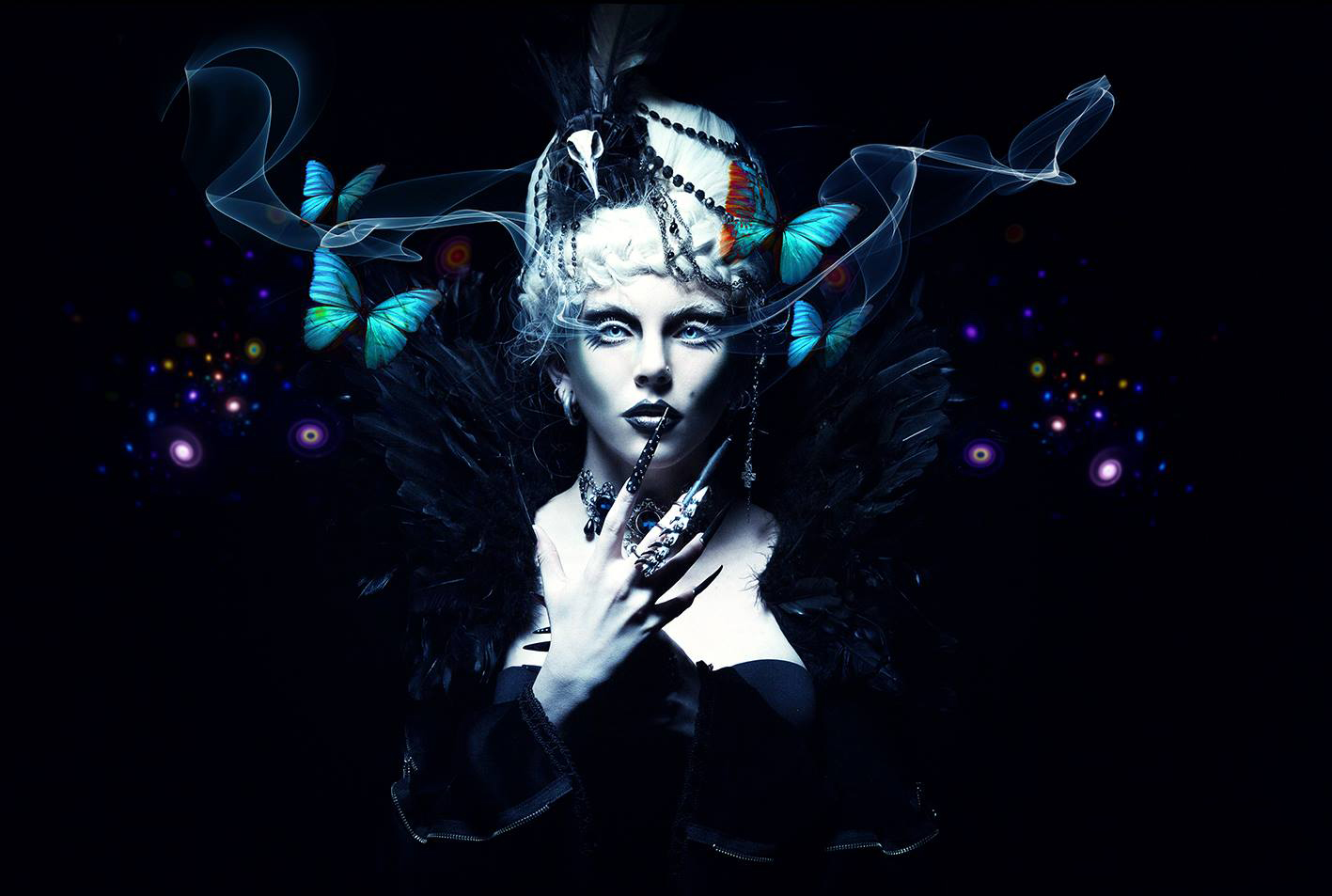 Senangelis Photography - Miss Twisted - makeup 'Mon Cherie' Makeup - wardrobe Asylum Dollz
