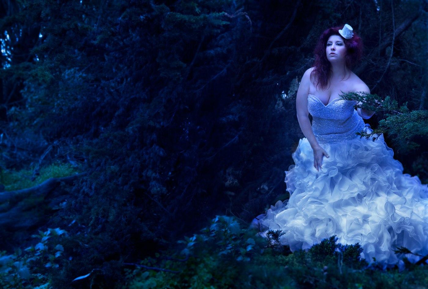 Leah Watanabe - Adrienne Glenn - designer Real Size Bride