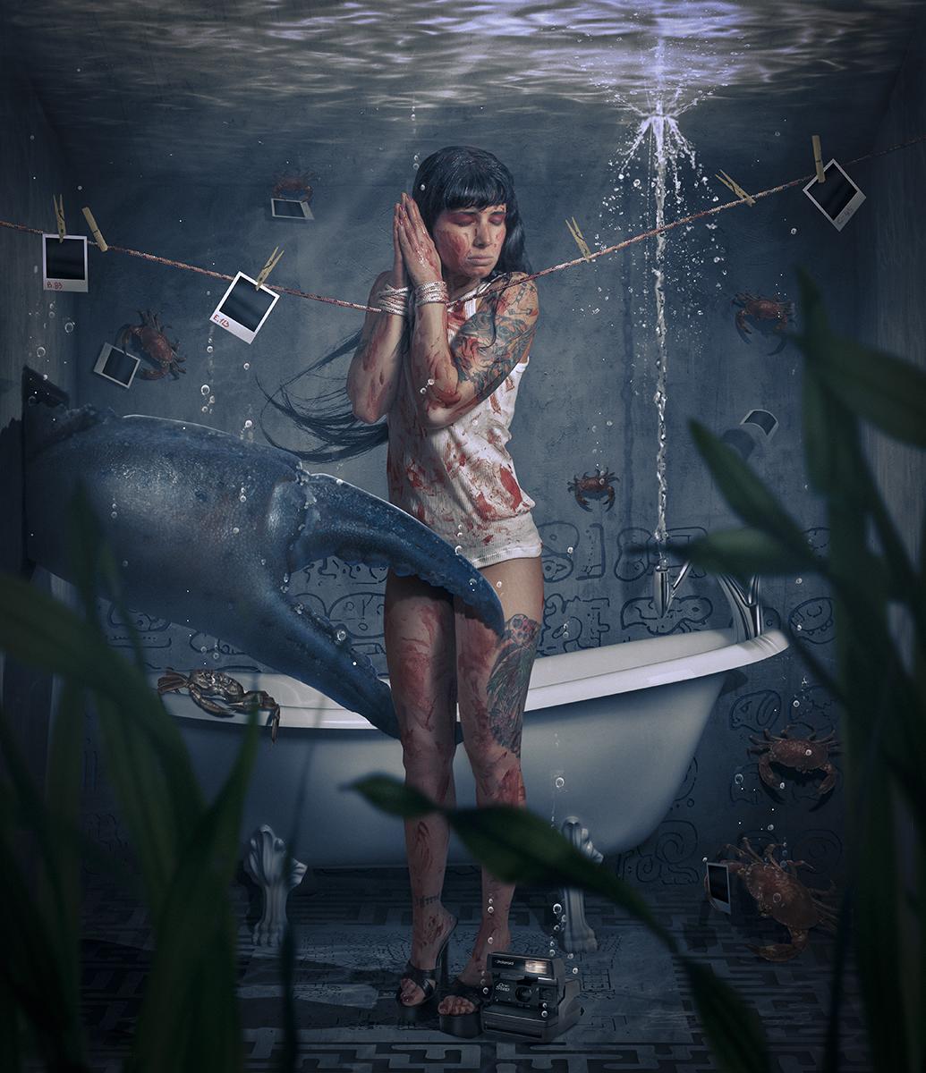 RamiDiablo Kerpelman - Malchiella Page - makeup Elena Fishkin