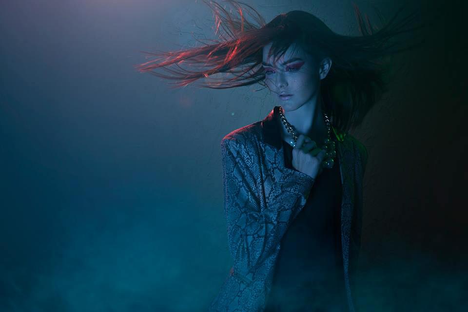 Alejandro Salinas - Maggie Astaburuaga - hair makeup Gaby Lopez Olivares (Photobox Make Up Hair) - designer Ramona - photog assist Enrique Chow