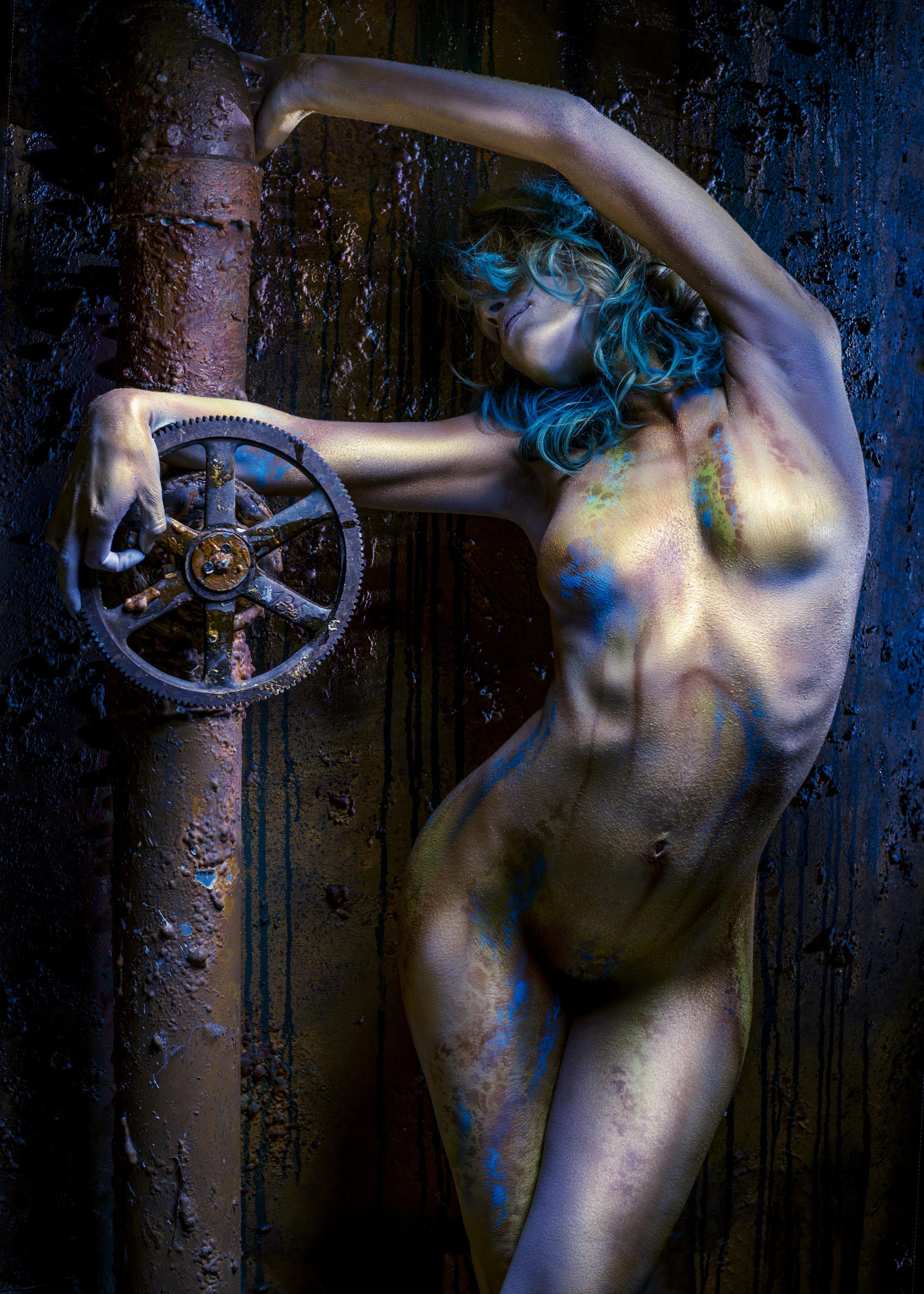 Scott E. Detweiler - Samantha - stylist Tamara Stockman - body paint Ottoz Kustomz