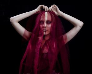 Beatrice Sniper - Allexis Marie Reis - makeup bald cap by photog