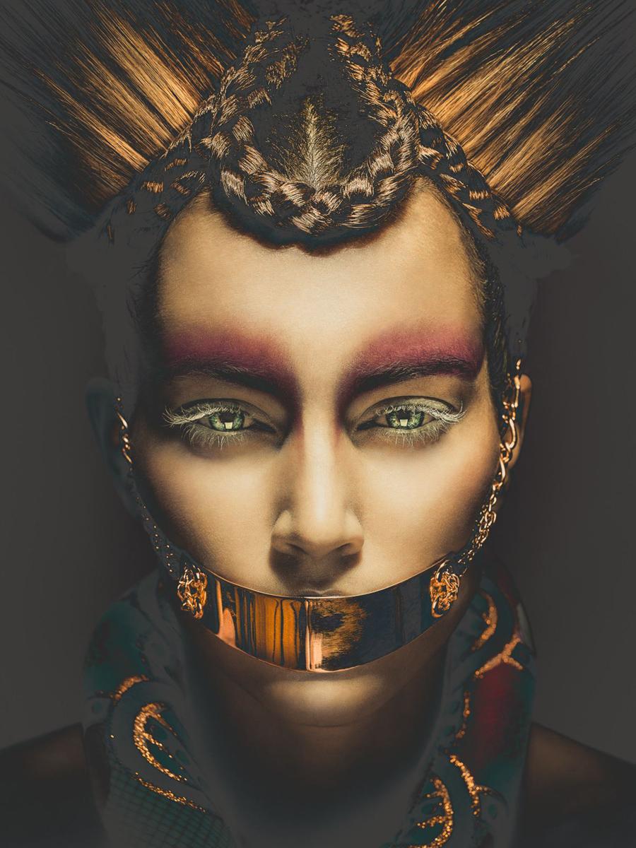 Duy Ha Minh - A-Claire Artistique - hair Pierre Ginsburg - makeup Alex Marjolaine Mazens - stylist Droops Creation