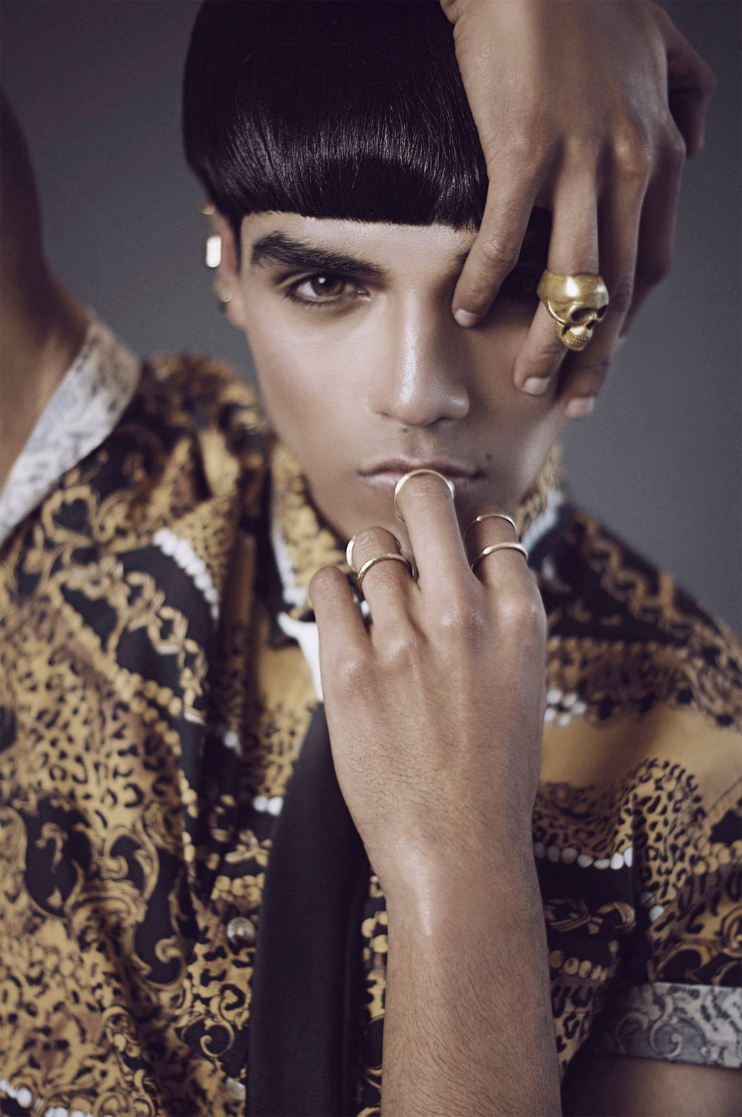 Jvdas Berra - Jean Rico - hair makeup Gio Lozano - stylist Federico Laboureau and Maximilian Pizzi - assist Blanka HG