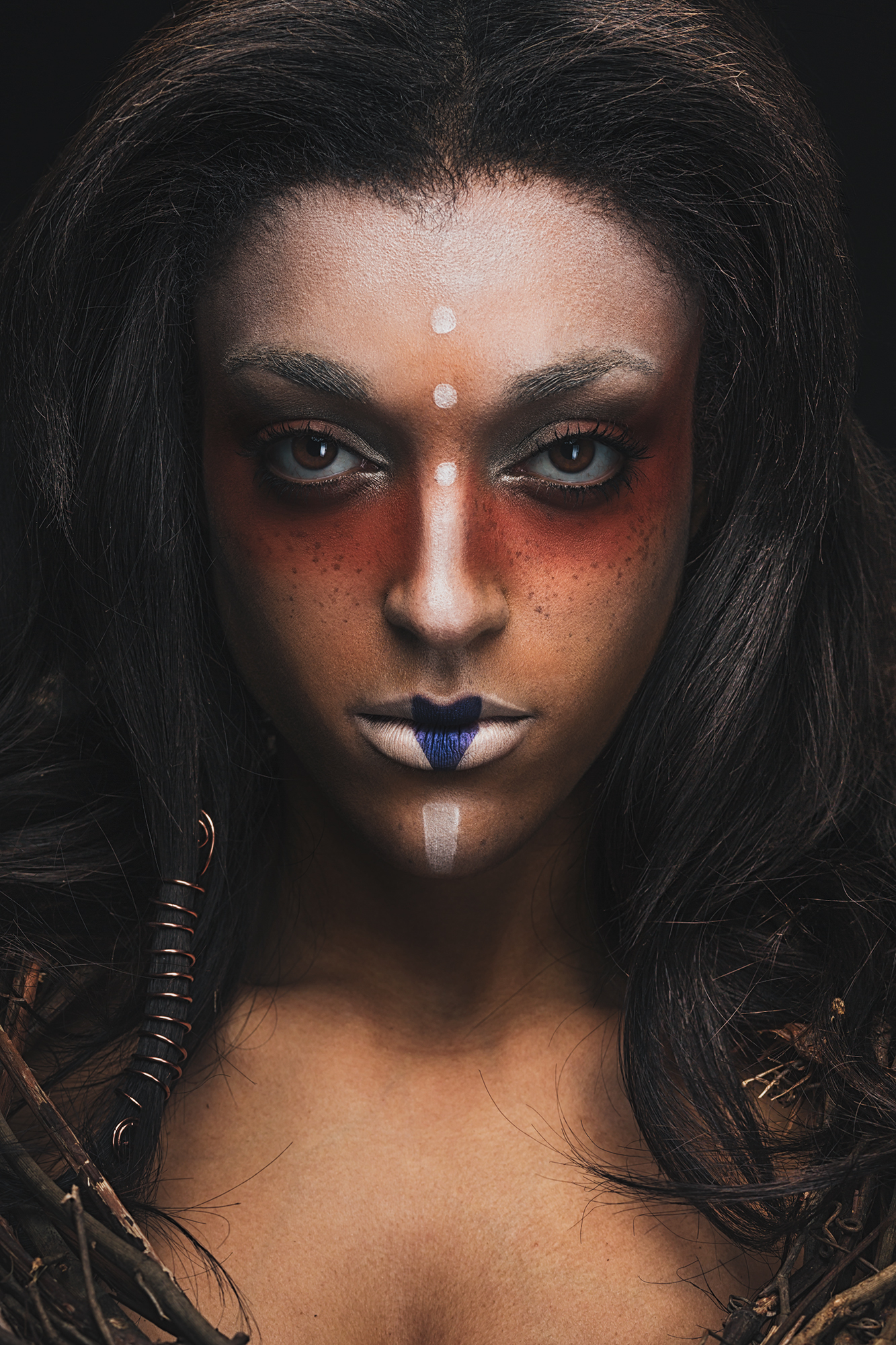 Michael Wessel - Whitney Nicole - makeup stylist Maya Baglien - Tribal-Evolution of A Concept