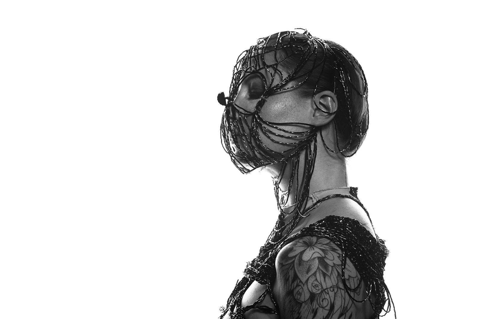 Quentin Caffier - Kiki Beguin - hair Anne Vialle - makeup Fanny Maurer - stylist Jackie Tadeoni