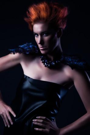 Kirsten Thys van den Audenaerde - Fashionatta - hair makeup stylist diesnger Marian Denolf for themakeuproom.be