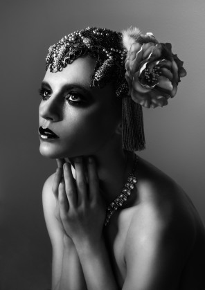 Olivia Lazer - Fox Chalker - makeup Lis Krebs - headdress The Plumed Serpent - The Evangelist
