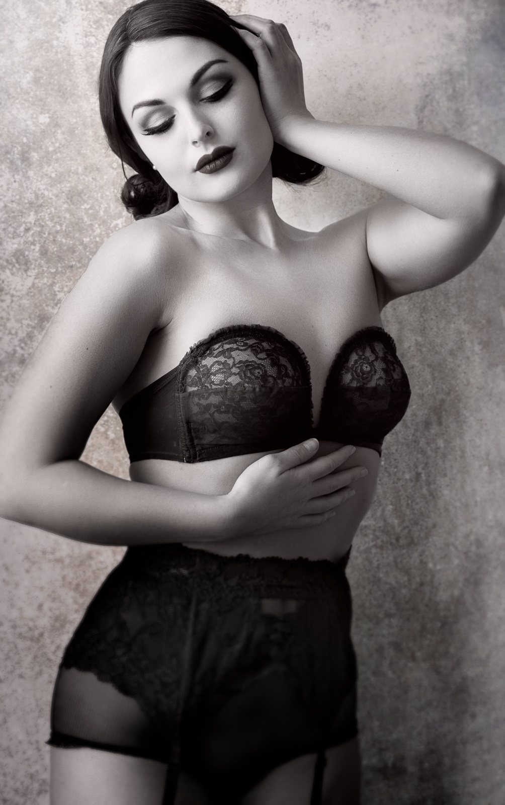 James Pitarresi - Anastasia Arteyeva - makeup is model