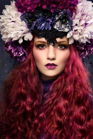 Quality Pixels Photography (Sylwia & Marcin Ciesielski) - Coco Ardagh - makeup Teresa Jolly Make Up Artis t- headpiece Ewa Jobko Costume Designer