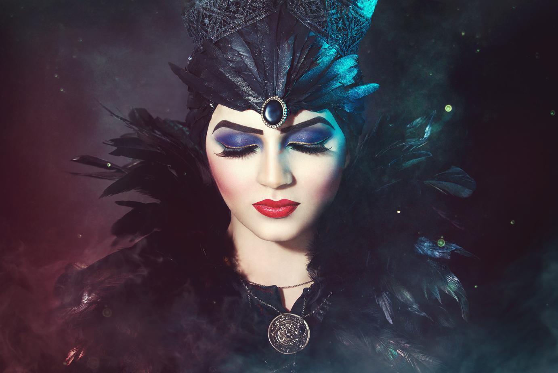 Maleficent Makeup Sarah Ann Wright