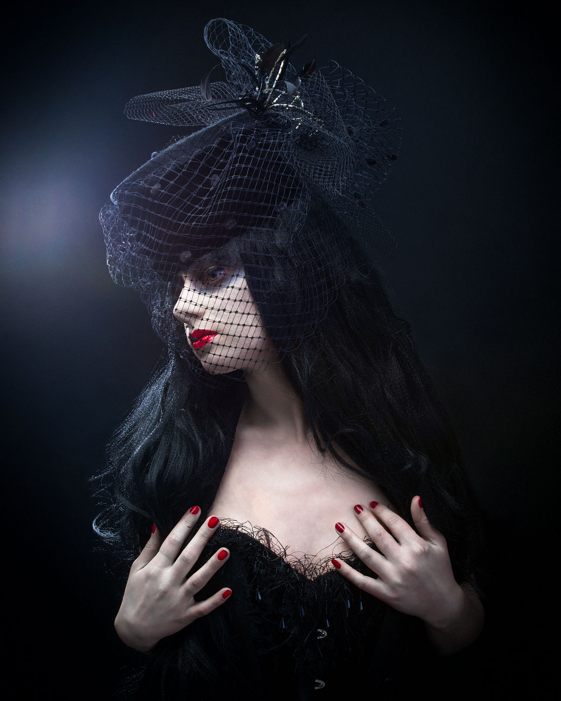 Norbert Pietraszek - Chloe Burton - hair makeup Aneta Kucinska - hat Jayne Elizabeth Rossiter-Gill - corset Lyndsey-Clark-Boutique