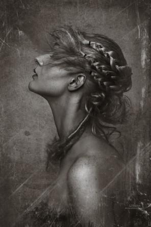 Lori Cicchini (Loriana fotographia) - Georgia Mackay - hair makeup Lauren Cataldo - A Beautiful Silence