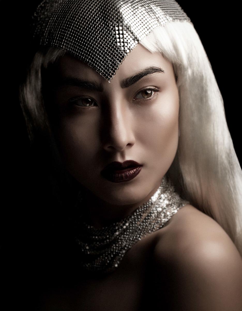 Robin Westfield - Charlene @ Montage Models - hair makeup Mika Holborow - stylist Maude Boisjoly - L'Ombre Noire