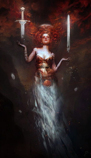 Bastien Lecouffe Deharme (b.digital.art) - Model Margot - The Magician of the Mountain of Death