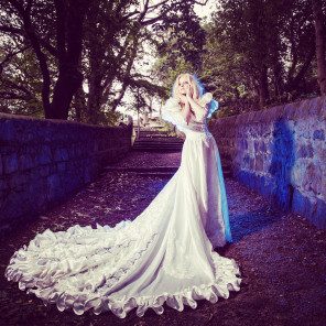 Jonathan Addie - Angel Crawford - makeup and designer is model