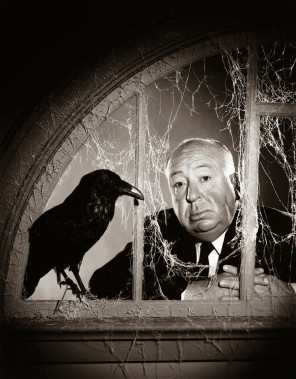 Philippe Halsman  - Alfred Hitchcock - film The Birds