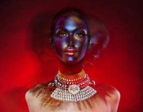 Alf Caruana - Alicia Kom - makeup Lizzie Sharp Mu-Fx VisualArtist - stylist Joel Gionis and Taryn Gionis