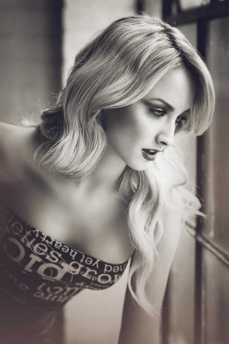Andrew Etchen - Jessica Stepanova - hair makeup Olga Onulov