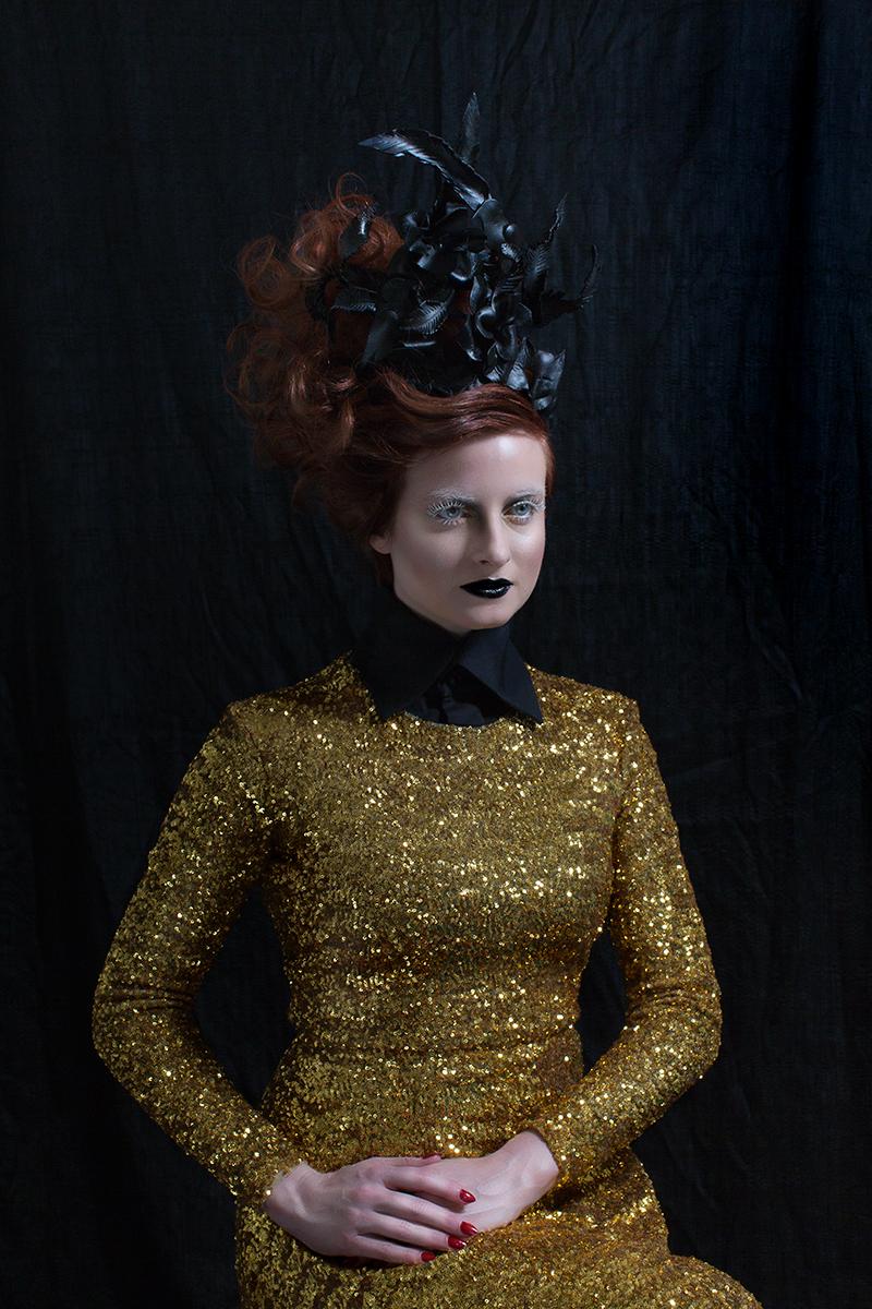 Brei Olivier (photosbybrei) - Amanda deLeon (amandadeleonclothing) - hair Jamie Gandy (FifiMahonysSalon) - makeup Ingrid Butler (Lipscape) - designer headpiece by model