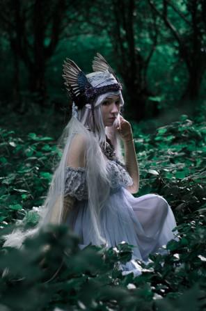 Valarie's Tears Fantasy Woodland Photoshoot