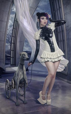 MPM7 (artofmpm7) - Nange Magro - designer Dead Lotus Couture - retouch is model