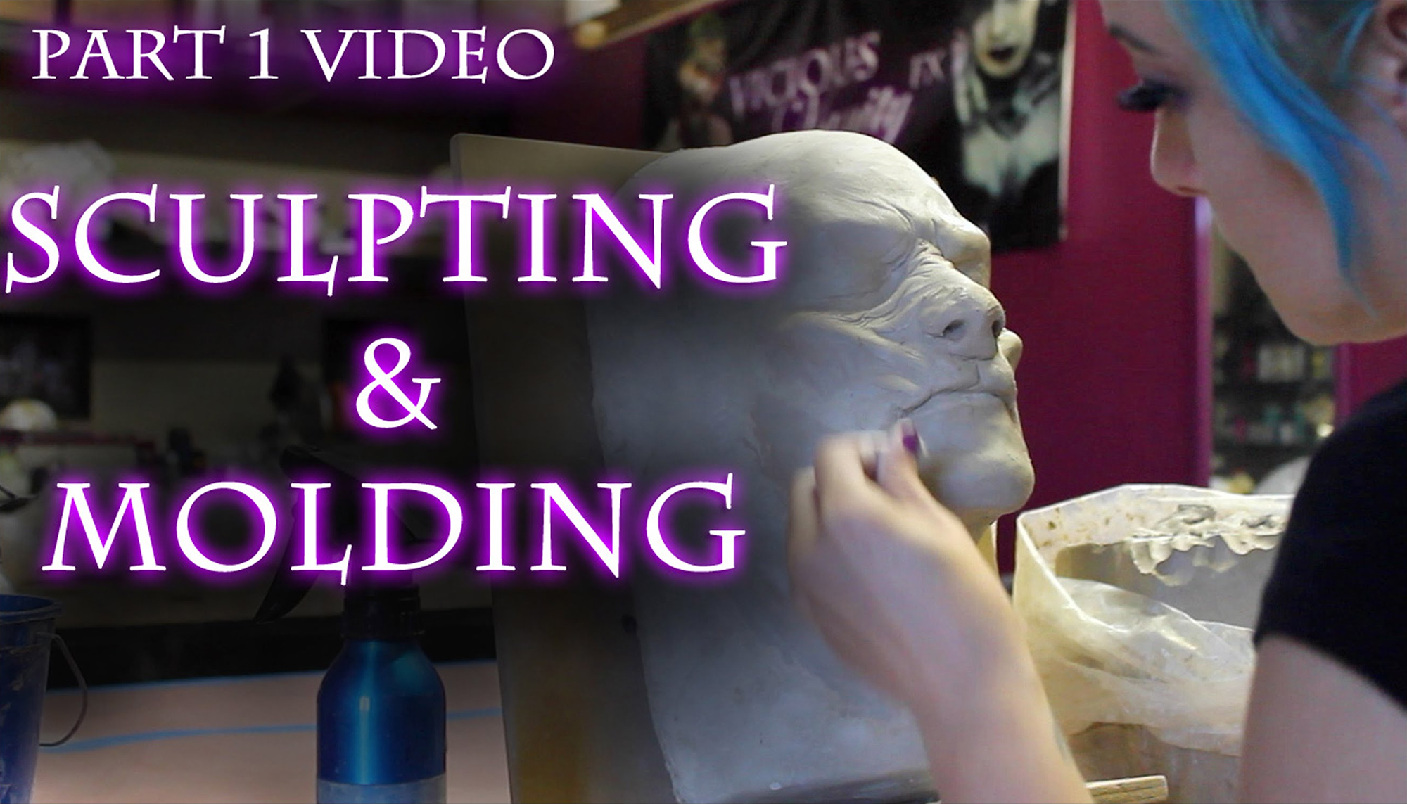 Vicious Vanity FX Tutorial, Part 1 - Sculpting & Molding
