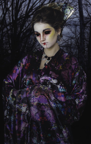 Anna M Johnson Photography - Emily Warfield - hair makeup Jessica Tyransky Hair and Makeup - designer Prune Juice Styles