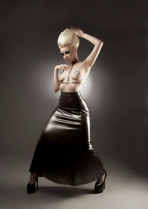 Christiana Dobbie (Doll House Photogprahy) - SINderella Rockafella - designer Black Sheep Latex