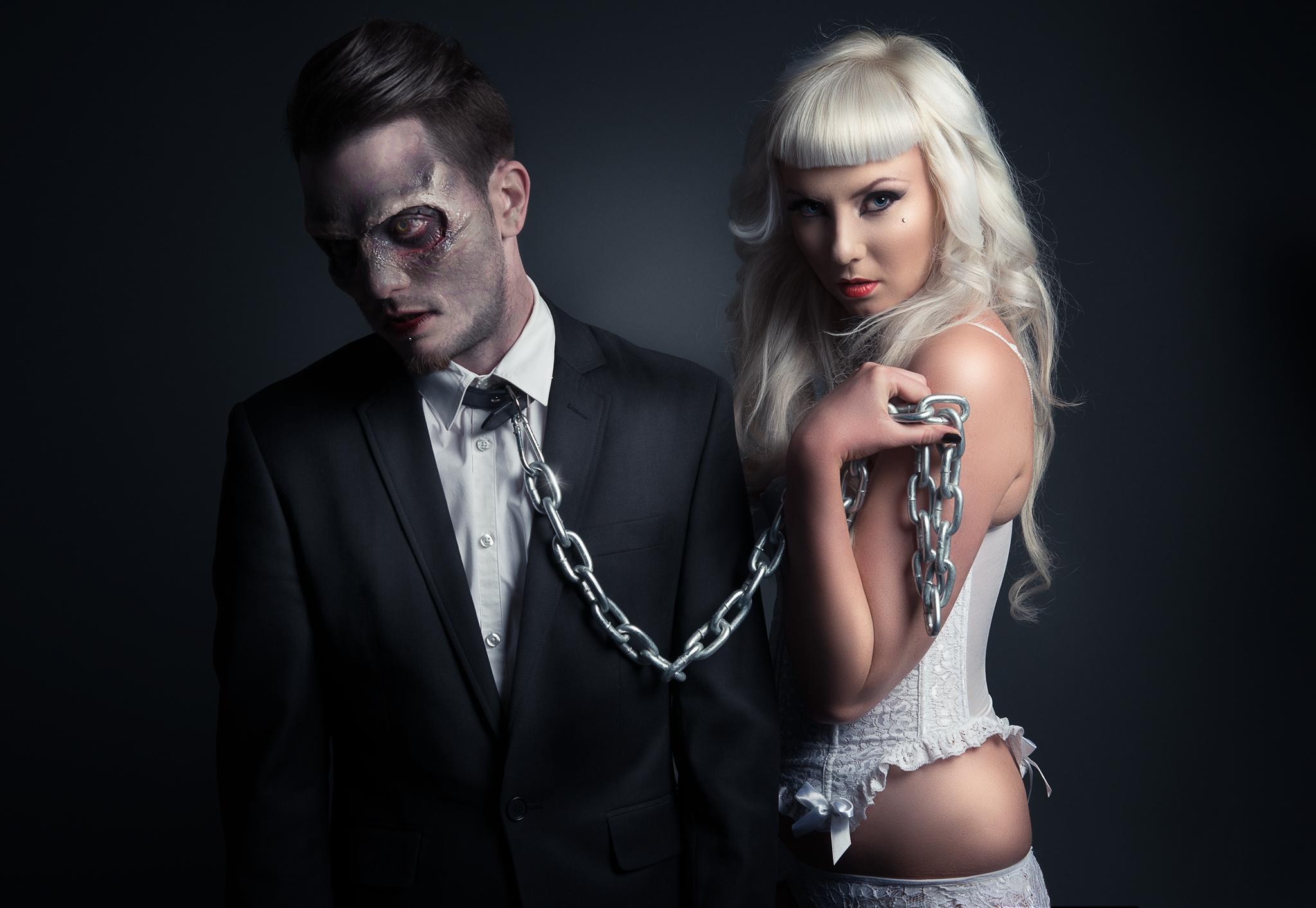 Gavin Moroney (Gavincreativephotography) - Jade Zombie Modelling and Benzi Alford - hair makeup Daisy Llewellyn Hairdressing