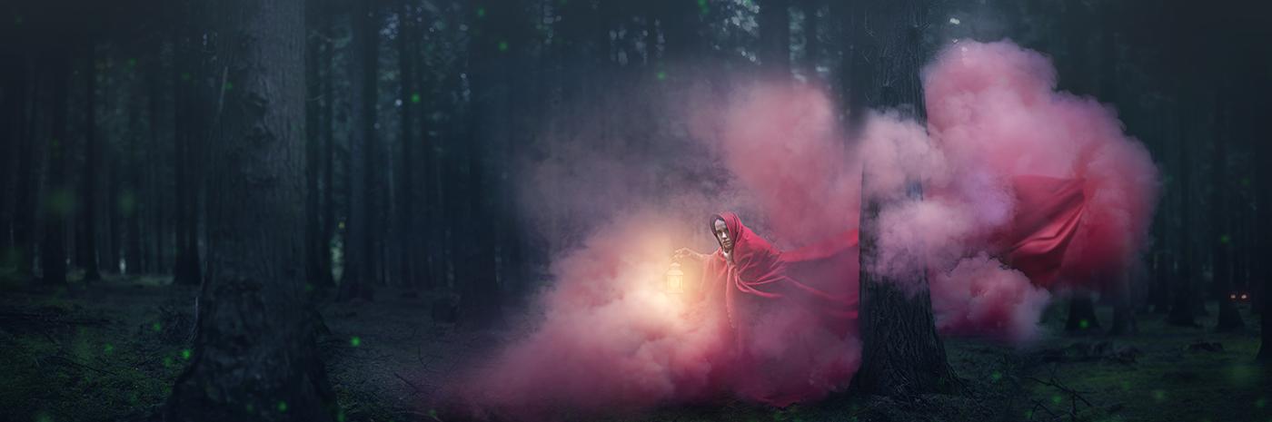 Marina Gondra - Red Ridding Hood