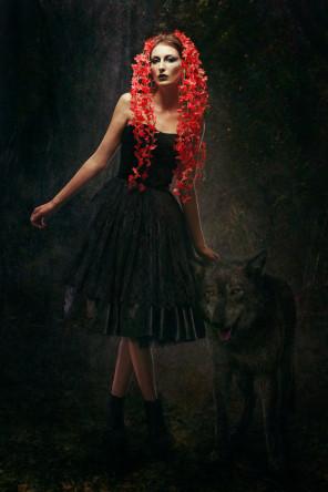 Quality Pixel Photography (Sylwia & Marcin Ciesielski) - Tovey Kingdon @ UK Model - makeup Teresa Jolly - designer Ewa Jobko