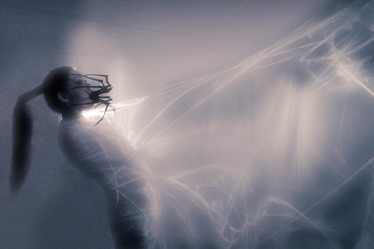 Rex Cable - Persephone Bleeds - makeup Emilia Art Make Up - ast Akinna