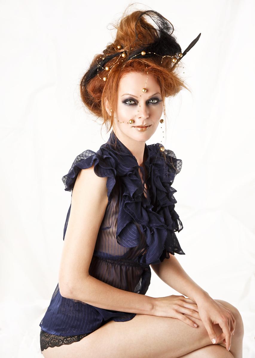 Tim Sabatino - Anna Easteden - hair makeup Mika Caviola