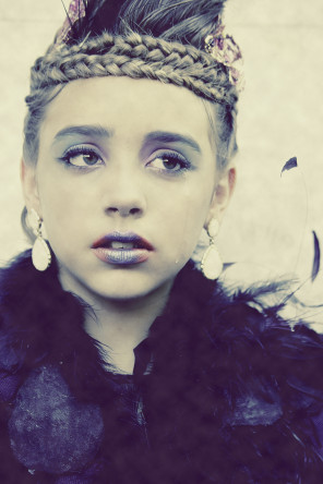 Virginia Rose Hodges - Emily Hodges - hair makeup Tone' Jackson - designer Barbie Gross