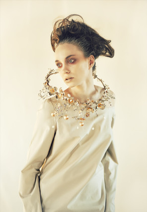 Alexei Aven (alexeiaven.artphoto) - Vera Prokhorova - makeup Yulia Itkin - jewelry Julishland Leather Jewelry