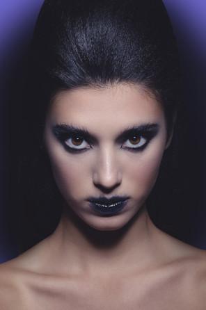 Carlos Garcia (carlosgarciaphoto.tumblr.com) - Anabel Dieguez - hair Almudena Mesa - makeup Miriam Hermoso (iammiriam.es) - Strange Purple