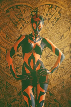 Nasicomy Foto - Emilija Liubinait - body painter VJ Makeup - Avatar