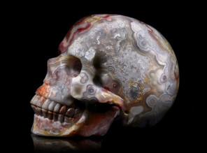 Tommy Flynn (tommyskull.com) - material Red Crazy Lace Agate