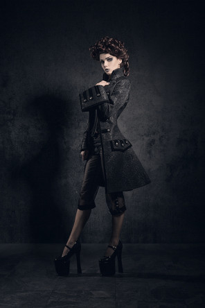 Zatsepin Alex - Elisanth (model elisanth) - makeup stylist is model - designer Royal Black Couture - Black Lord