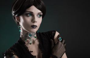 Zatsepin Alex - Elisanth (model.elisanth) - jewelry Nocturne Jewellery - contact lenses Samhain Contact Lenses (samhainlenses)