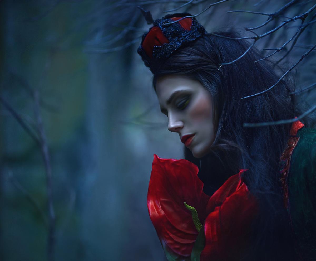 Agnieszka Lorek (A.M Lorek Photography) - Laura Chapman - headpiece Pendulous Threads UK