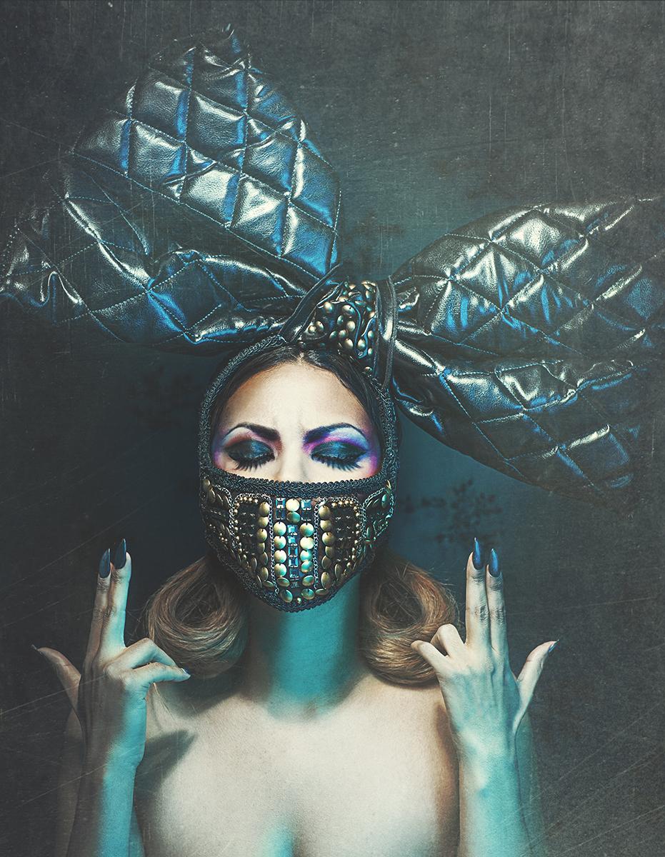 Amanda Diaz Photography - Kirstie M - mua Renee Rampersad - headpiece Posh Fairytale Couture