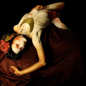 Amber Michael - Victoria Singleton - hmua body paint by photog