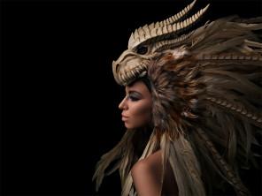 Daniel Hager Photography - Antonia Nathalia (AntoniaThalia.SMC) - mua Rachel Sigmon Master Cosmetologist - headpiece Posh Fairytale Couture - retouch Edgeworld Retouch - Dragon