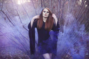 Iona Taberham Photographer - Gingerface UK Model - mua Little Orange Loves - dsg Killstar Clothing