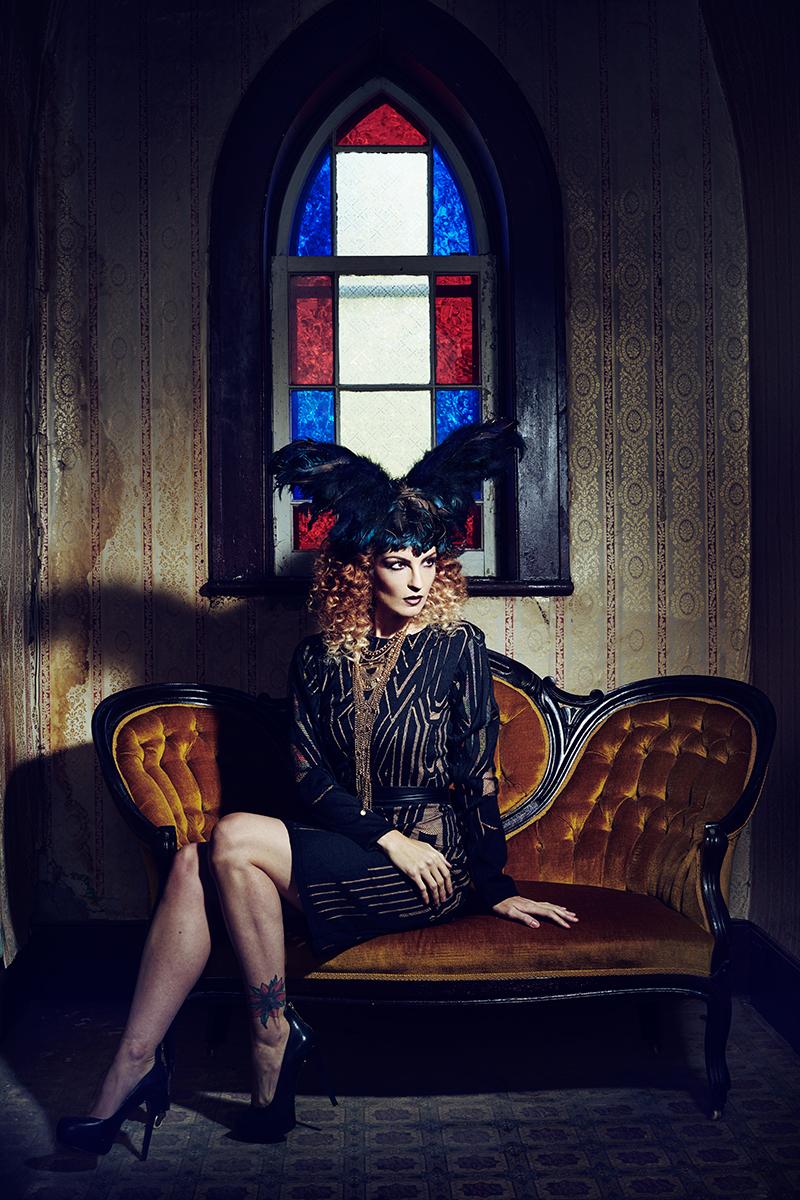 Adrian Holmes - Kehli G - h Jesika Broomer - mua Judi Willrich Makeup - dsg Lesley Hampton - phg ast Lili - cpt by phg 1