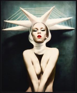 Ekaterina Zagustina - self-portrait - The State of Liberty