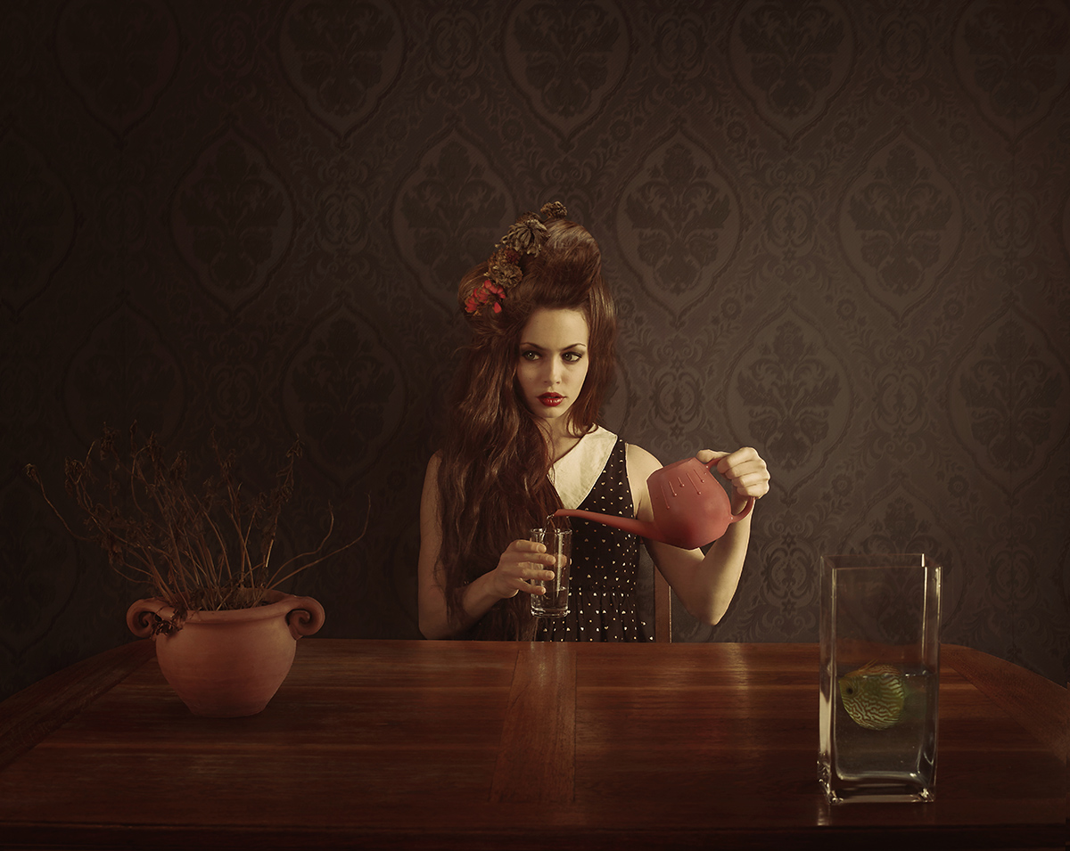 Janine Machiedo Photography - self-portrait - Greed