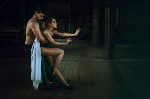 Anne Hoffmann (annehoffmannherzmenschfotografie) - Model-Widget-206193882786062, max.tizian - mua Michelle Wolfe (m.wolfe.stylist) - The Dance-The Rediscovered Confidence Arouses Hope